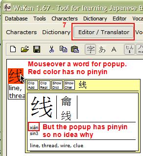 Click Editor/Translate